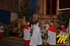 początek mszy bożonarodzeniowej o godz. 00/00