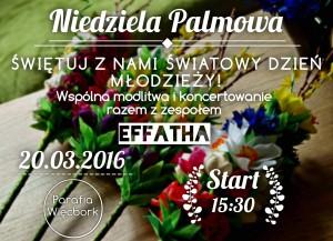 Niedziela Palmowa - modlitwa, koncert i konkurs!